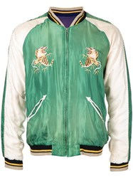 Tailor Toyo Aging Model Bomber Jacket Green