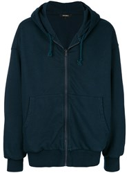 Yeezy Oversized Hoodie Cotton Blue