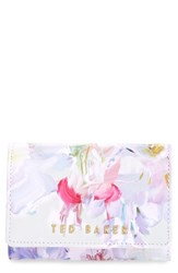 Women's Ted Baker London 'Hanging Garden' Floral Print Leather Wallet