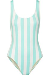 Solid And Striped The Anne Marie Swimsuit Sky Blue