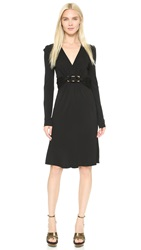 Wgaca Gucci Dress Previously Owned Black