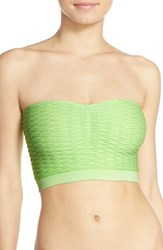 Women's Kensie 'Kylie' Seamless Bandeau Bra Green 2 For 30 Lime Crime