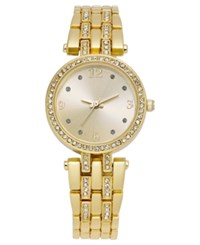 Charter Club Women's Gold Tone Bracelet Watch 28Mm Only At Macy's