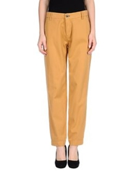 Shine Casual Pants Ocher