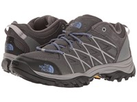 The North Face Storm Iii Dark Gull Grey Marlin Blue Women's Shoes Gray
