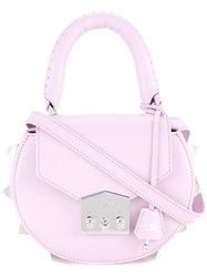 Salar Mini Cross Body Bag Pink Purple