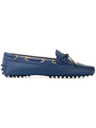 Tod's Gommino Loafers Blue