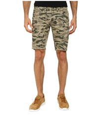 Matix Clothing Company Gripper Twill Shorts Olive Camo Men's Shorts Green
