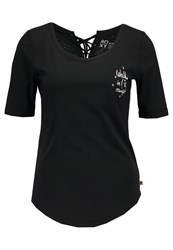 Roxy Boogie Boardlace Print Tshirt Anthracite