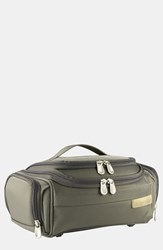 Men's Briggs And Riley 'Baseline Executive' Travel Kit Olive