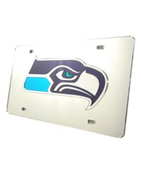 Rico Industries Seattle Seahawks License Plate Silver
