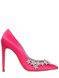 Chiara Ferragni 100Mm Crystal Stars Satin Pumps