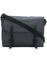 Ally Capellino Jeremy Small Ripstop Messenger Bag Grey