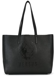Versus Large Double Straps Tote Black