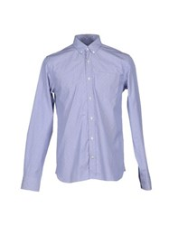 Mauro Grifoni Shirts Shirts Men Sky Blue