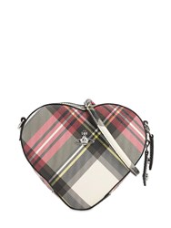 Vivienne Westwood Derby Coated Canvas Heart Bag New Exhibition
