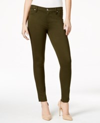 Calvin Klein Jeans Colored Jeggings Medieval Green