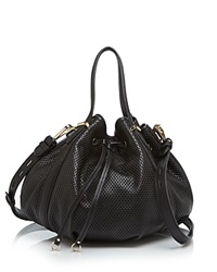 Rebecca Minkoff Shoulder Bag Military Perforated Bucket