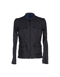 Blauer Coats And Jackets Jackets Men Dark Blue