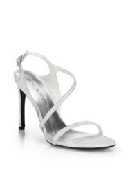 Stuart Weitzman Sensual Glitter Evening Sandals