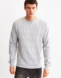 Bellfield Quill Print Sweat