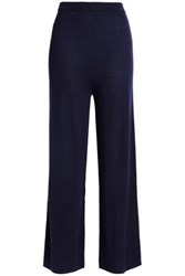 N.Peal Cashmere And Silk Blend Pants Navy