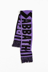 Urban Outfitters Black Sabbath Scarf Purple
