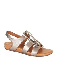Fitflop Gladdie Lace Up Sandals Female Metallic