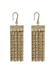 Lanvin Zita Fringed Earrings