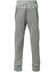 Tim Coppens Patch Pocket Track Pants Green