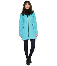 Ilse Jacobsen 3 4 Length Coat Pacific Blue