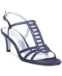 Adrianna Papell Ainsley Evening Sandals Women's Shoes Navy