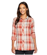 Mountain Khakis Townie Long Sleeve Shirt Champagne Plaid Clothing Red