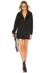 Lovers Friends Izzy Zip Up Hoodie Black