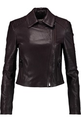 J Brand Aiah Leather Biker Jacket