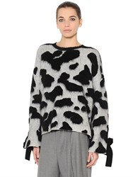 Sportmax Wool Mohair And Angora Knit Sweater
