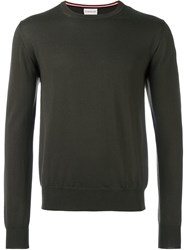 Moncler Classic Knit Sweater Green