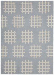 Chandra Lima Flat Weaved Rectangle Reversible Wool Cotton Rug 3 Gray