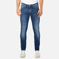 Edwin Men's Ed 85 Slim Tapered Drop Crotch Jeans Mid Trip Used