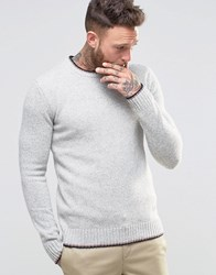Penfield Gering Melange 2Tone Jumper Grey