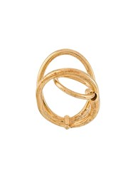 Alan Crocetti Space Ring Gold