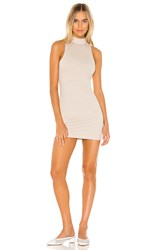 Privacy Please Lyric Mini Dress In Beige. Stone Stripe
