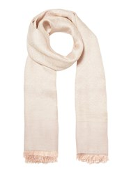 Guess All Over Logo Not Coordinated Scarf Rose