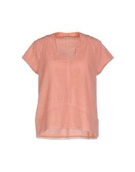 Paul And Joe Sister Shirts Blouses Women Salmon Pink