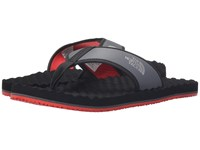 The North Face Base Camp Flip Flop Zinc Grey Metallic Silver Men's Sandals Gray