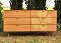 Iannone Design Flower Long Dresser