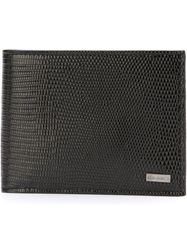 Dolce And Gabbana Classic Bill Fold Wallet Black