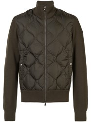 Moncler Stephan Quilted Jacket Green