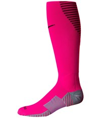 Nike Matchfit Over The Calf Team Socks Hyper Pink Villain Red Black Knee High Socks Shoes