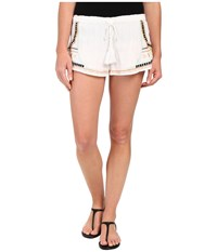 Rip Curl Tribal Myth Luxe Shorts White Women's Shorts
